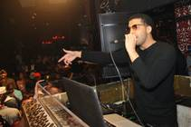 Drake at Tao in the Venetian on Friday, May 11, 2012.