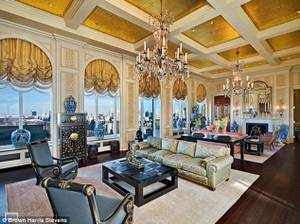 Steve Wynn's newly purchased $70 million penthouse in New York City includes, pictured here, the former ballroom of the Ritz Carlton.