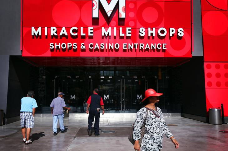 The Miracle Mile Shops at Planet Hollywood Resort and Casino in Las Vegas on Tuesday, May 16, 2012.