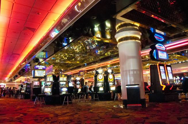 A view of the casino floor at The Riviera, May 16, 2012.