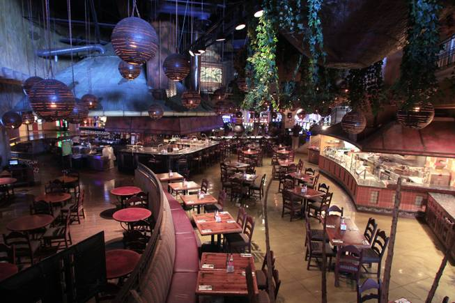 Garduno's at the Palms, seen Wednesday, May 16, 2012, is set to close soon and reopen as an upscale sports bar.