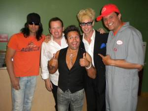 "Criss Angel, Nathan Burton, Mateo, Murray Sawchuck and Doug ""Lefty"" Leferovich."