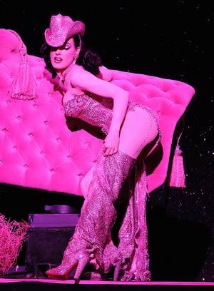 "Dita Von Teese in ""Strip, Strip, Hooray"" at House of Blues in Mandalay Bay on Thursday, May 17, 2012."