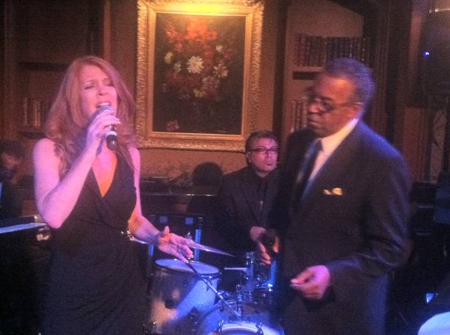 "Kelly Clinton and Ronnie Rose sing ""Last Dance"" as the Stirling Club at Turnberry Place closes."