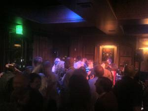 The Stirling Club closes, so there is dancing.