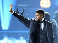 Usher performs during the 2012 Billboard Music Awards at MGM Grand Garden Arena on Sunday, May 20, 2012.