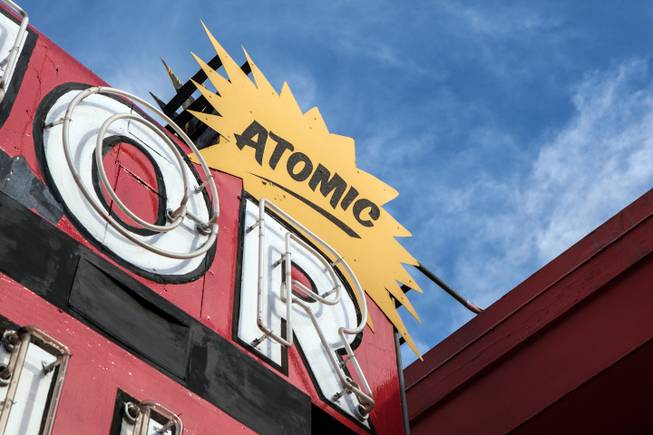 Atomic Liquor Store and Bar; 917 Fremont St.Las Vegas, NV 89101