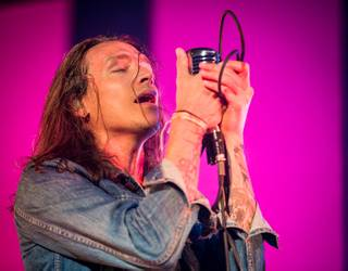 Brandon Boyd and his band Incubus at The Joint in the Hard Rock Hotel on Friday, May 25, 2012.