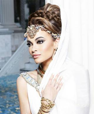 Portraits of 2012 Miss USA Pageant contestants by Fadil Berisha. Miss Nevada is pictured here.
