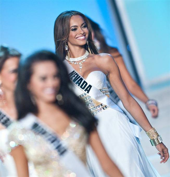 The 2012 Miss USA Pageant preliminaries at Planet Hollywood on Wednesday, May 30, 2012.