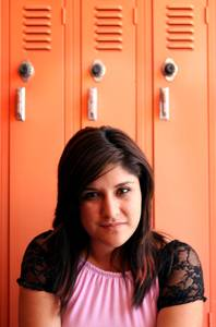 Guadalupe Espinoza, a senior at Chaparral High School in Las Vegas on Wednesday, May 30, 2012.