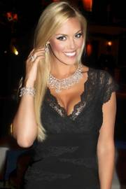 2011 Miss Nevada USA Sarah Chapman is the $2 million woman in Lili Jewelry.