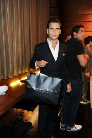 Scott Disick celebrates his 29th birthday at 1 OAK in the Mirage on Friday, June 1, 2012. His group dined at nearby Stack before the party at 1 OAK.