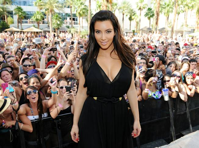 Kim Kardashian hosts at Rehab in the Hard Rock Hotel ...