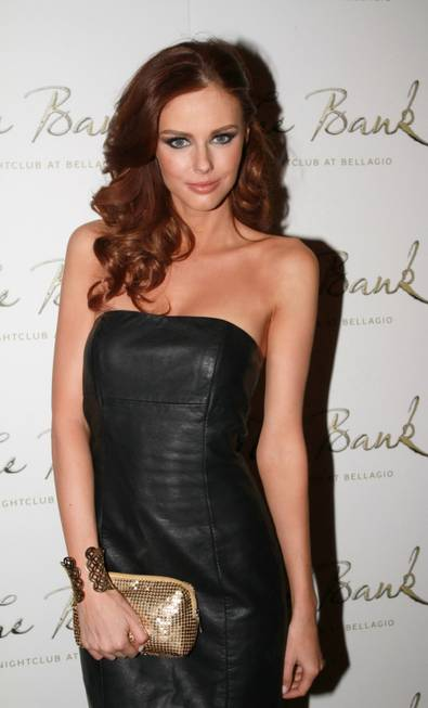 Alyssa Campanella at The Bank in the Bellagio on Sunday, ...