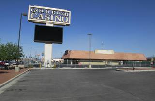 The site of the Gold Rush Casino is shown at the southwest corner of West Sunset Road and Marks Street in Henderson, Monday, June 4, 2012. It is set to reopen in the fall as Wildfire Sunset.