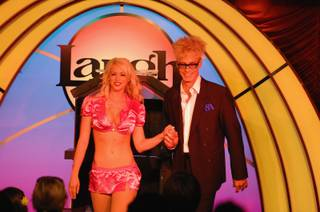 Murray Sawchuck's grand-opening performance at The Laugh Factory in Tropicana Las Vegas on Monday, June 4, 2012.
