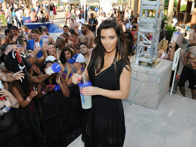 Kim Kardashian at Rehab and Kardashian Khaos