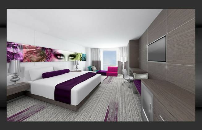 The Palms Will Begin A Hotel Room Overhaul As Part Of 50