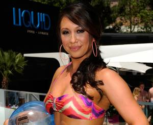 Cheryl Burke Hosts at Liquid Pool Lounge