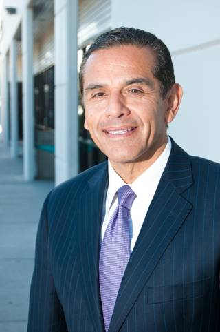 Los Angeles Mayor Antonio Villaraigosa, Friday June 8, 2012.