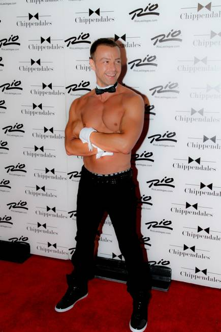 Joey Lawrence at Chippendales in the Rio on Friday, June ...