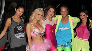 I had wanted to go to EDC since the first time I had heard Holly Madison talk about it; she had gone all three nights in 2011. Each night, her costume was more elaborate than the previous, which made me even more excited to attend.
