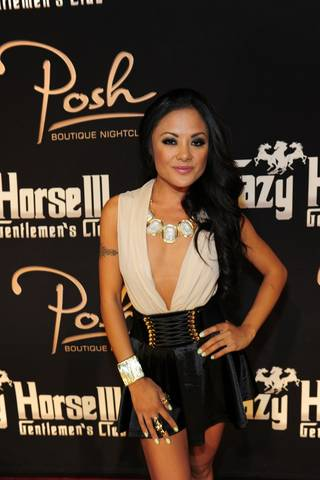 Kaylani Lei hosts at Crazy Horse III in Las Vegas on Saturday, June 9, 2012.