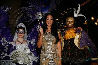 2012 Carnevale with Kimora Lee Simmons at the Venetian on Monday, June 11, 2012.