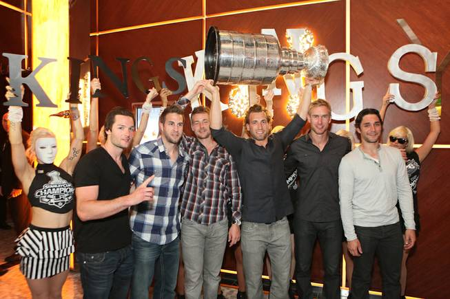 The L.A. Kings celebrate their first Stanley Cup victory at ...