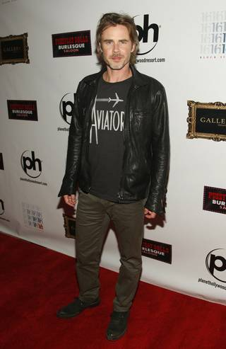 Sam Trammell hosts at Gallery in Planet Hollywood on Saturday, June 16, 2012.