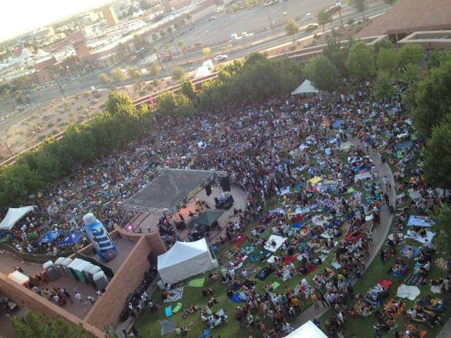 The 2012 Reggae in the Desert.