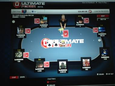"The race to roll out the first legal, real-money poker website in the United States is over — and it ended in Nevada. Station Casinos on Tuesday launched a 30-day trial of UltimatePoker.com, which allows in-state gamblers to play online poker from computers or mobile devices. ""It's a new day in online gaming,"" Ultimate Poker Chairman and Founder Tom Breitling said. ""Nevada is first, and Nevada should be proud."""