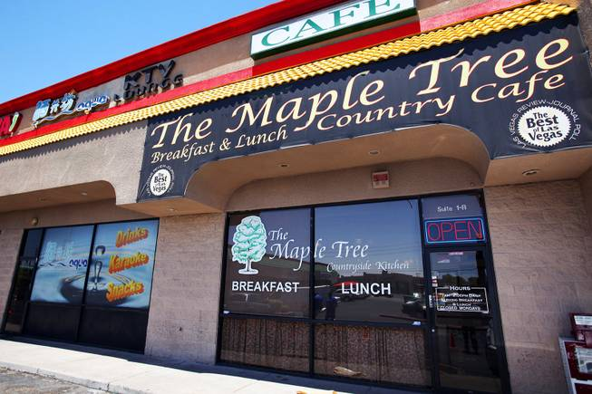 The Maple Tree Cafe is seen in Las Vegas on Wednesday, June 20, 2012.