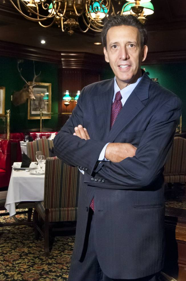Ron Randazzo, GM of the Steak House at Circus Circus, on Thursday, June 21, 2012.