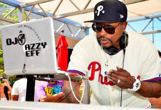 DJ Jazzy Jeff at Ditch Fridays at the Palms on Friday, June 22, 2012.