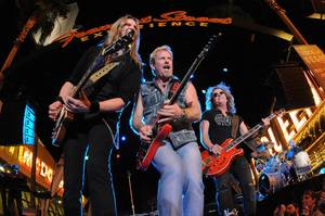 Night Ranger at Fremont Street Experience