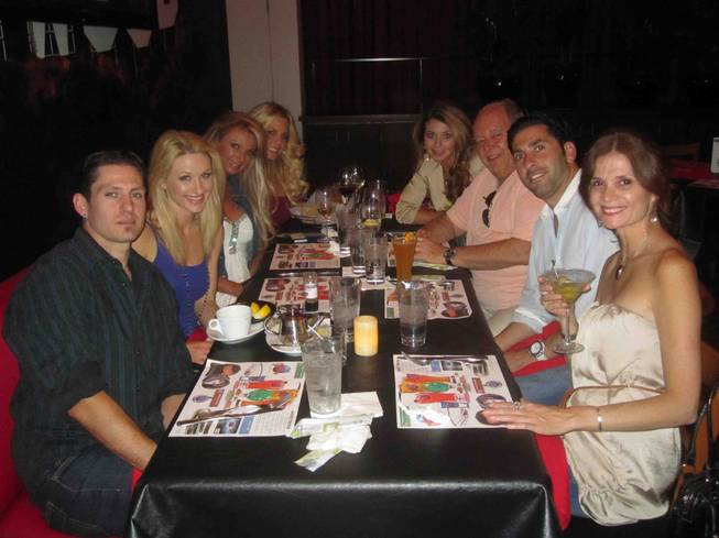 The Playboy Morning Show crew dine with Robin Leach, third ...