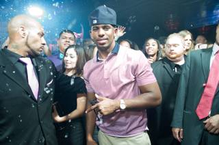 Chris Paul hosts the Baller's Ball at Lavo in the Palazzo on Friday, June 22, 2012.