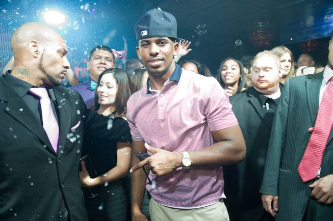 Chris Paul hosts the Baller's Ball at Lavo in the ...