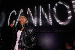 Nick Cannon at Chateau Nightclub & Gardens in the Paris on Saturday, June 23, 2012.