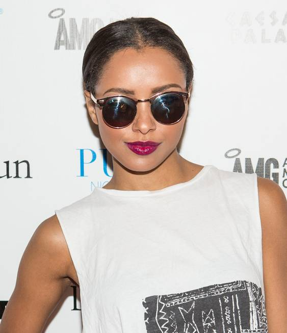 Kat Graham hosts and performs at Pure in Caesars Palace ...
