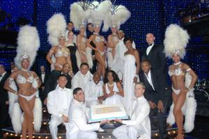 """Vegas! the Show"" celebrates its second anniversary at Planet Hollywood on Tuesday, June 26, 2012."