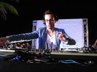 Popular Miami-based DJ Obscene is in town for the 2012 iHeart Radio Music Festival.