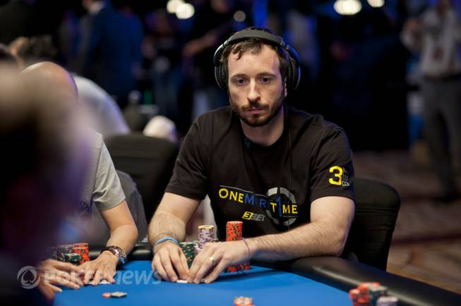 Brian Rast at the World Series of Poker's the Big ...