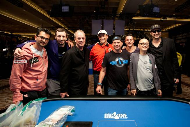 The Extraordinary Eight of Antonio Esfandiari, Brian Rast, Bobby Baldwin, ...