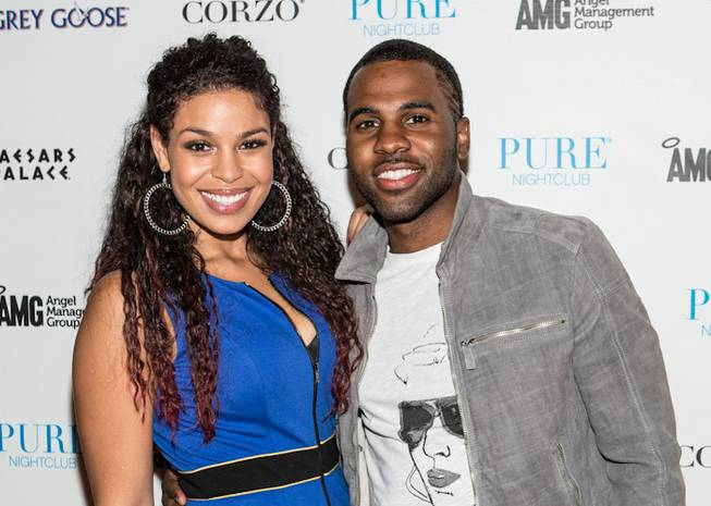 Jason Derulo, pictured here with girlfriend Jordin Sparks, hosts and ...