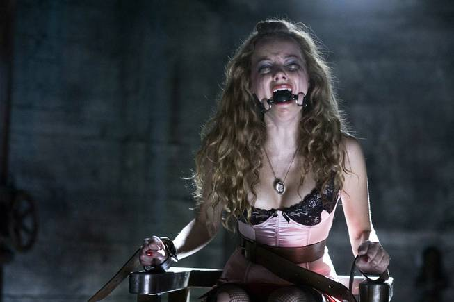 "Bijou Phillips in 2007's ""Hostel Part 2."""