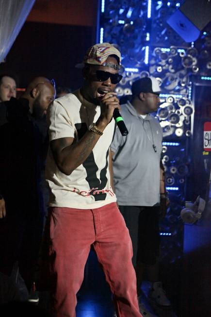 B.o.B hosts and performs at Hyde Bellagio on Saturday, July ...