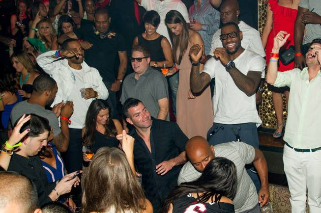 LeBron James celebrates his first NBA championship at Tao in ...